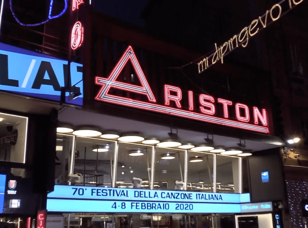 Festival Sanremo 2020 Ariston